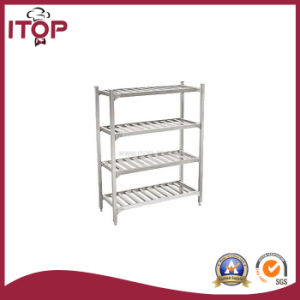 Stainless Steel 4 Tiers Storage Rack Shelf (SR-R05) pictures & photos