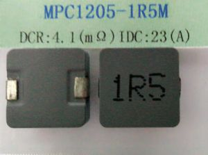 Power Inductor, 1.5uh, Temperature Rise Current=23A, Size: 13.8*12.5*5.0mm, DC/DC Converters pictures & photos