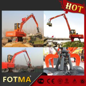 Swing Rubbish Bucket Crane, Rotating Hydraulic Grapple pictures & photos
