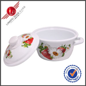 Durable Enamel Cookware Set Sauce Pan pictures & photos