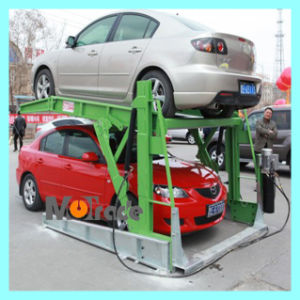 2 Leg Two Columns Hydraulic Garage Car Tilted Parking Platform pictures & photos