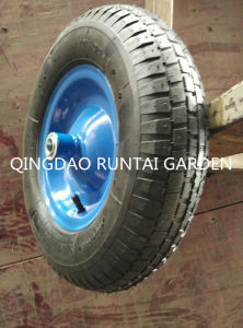 Qingdao Made Hot Sell High Quality Durable Air Rubber Wheel (4.80/4.00-8) pictures & photos