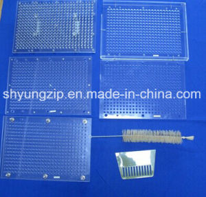 187 Holes Manual Capsule Filling Machine for Capsule Size 00# to 4# pictures & photos