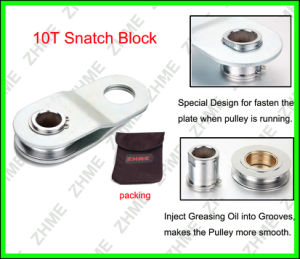 Snatch Block 10 T Double Pulling pictures & photos