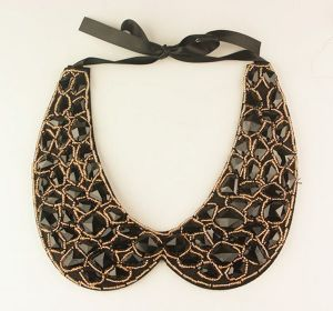 Black Diamond Geometric Pattern False Collar Necklace Fashion Jewelry pictures & photos