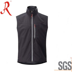 Windproof and Waterproof Softshell Jacket Vest (QF-4115) pictures & photos