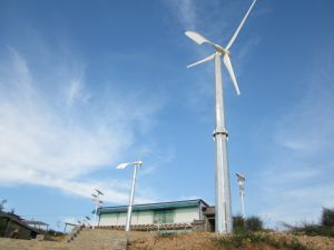 10kw Patent Pitch Controlled Wind Turbine (Low Noise) pictures & photos