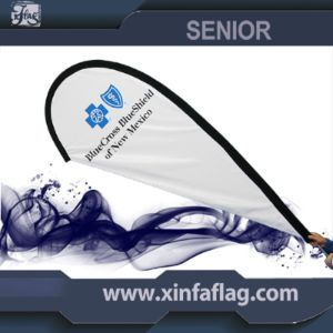 Custom Tear Drop Flags, Polyester Flags, Outdoor Flags pictures & photos