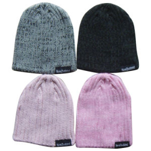 Knitted Winter Warm Acrylic Beanie Hat pictures & photos