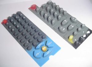 Remote Cnotroller Silicone Rubber Button (SRK-005) pictures & photos