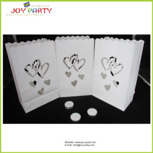 Heart Style Liminary Candle Bags 15*9*26cm