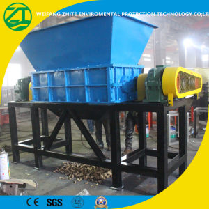 Double/ Single Shaft Shredder for Scrap Metal/Tire/Plastic/Wood pictures & photos