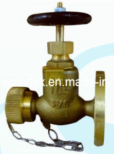 Marine Bronze Globe Hose Valve (RX-MV-RK-F7334 5K)
