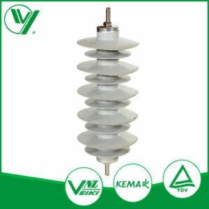 High Voltage Line Type ZnO Lightning Arrestors Yh10W-15 pictures & photos