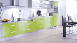 Kitchen Furniture, Modern Style Economy MDF Kitchen Cabinet pictures & photos