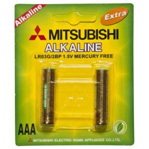 Lr03 AAA Mitsubishi Alkaline Dry Battery