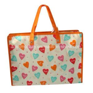 PP Woven PP Non Woven Lamination Printing Zipper Bag pictures & photos