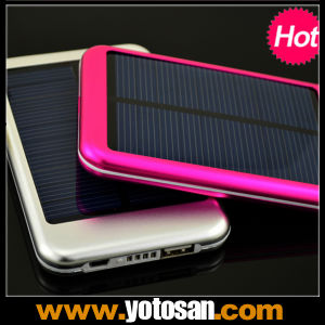 5000 mAh Mobile Phone Power Bank Portable Solar Panel Battery Charger pictures & photos