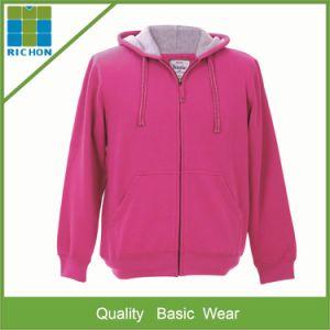 Men′s Zipper Fleece Hoody Sweatshirt