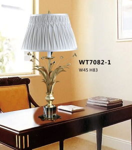 Decorative Brass Desk Light for Home (WT7082-1) pictures & photos