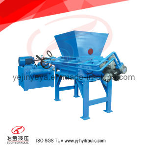 Fsj Hydraulic Metal Cans and Drums Crusher
