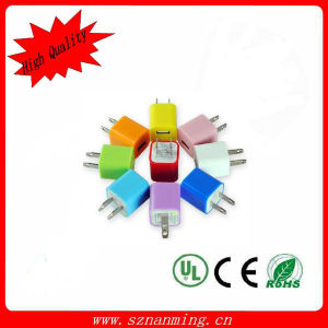 USB Wall Charger Us Plug Colorful for iPhone/iPad pictures & photos