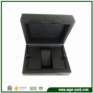 Elegant Black Lacquering Wooden Watch Box pictures & photos