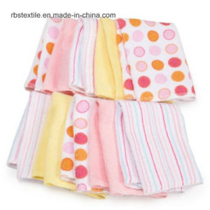 Wholesale Knitted Cotton Baby Receiving Blanket pictures & photos