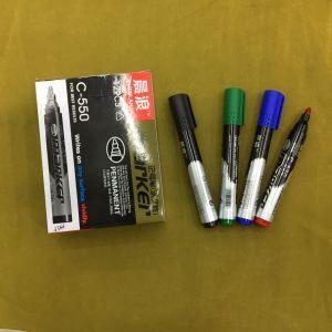 C-550 Permanent Marker Pen 12PCS/Box, Oil Pen pictures & photos