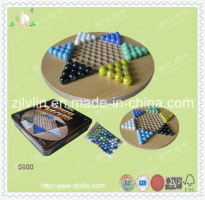 Chess Board Game with MDF Material and Deluxe Chessman
