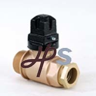 Brass Ball Valve with Plastic Handle pictures & photos
