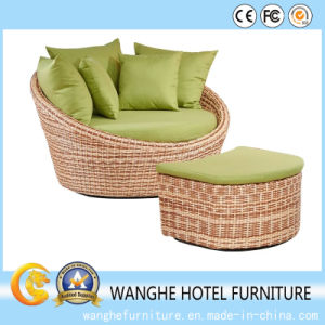 Hotel Outdoor Rattan Chair Chaise for Garden pictures & photos