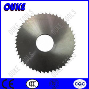Ticn Coated HSS Circular Saw Blade for Cutting Alloy Steel pictures & photos