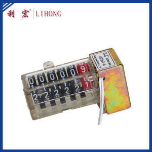 Motor Erected 6 Digits PC Material Kwh Meter Counter (LHPD6V-01)