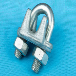 Galv Malleable Iron Steel DIN741 Wire Rope Clip pictures & photos