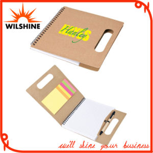 Custom Paper File Folder with Colorful Sticky Note and Memo Pad (FM401) pictures & photos