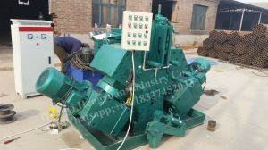 Low Cost Spiral Screw Blade Cold Rolling Making Machine pictures & photos