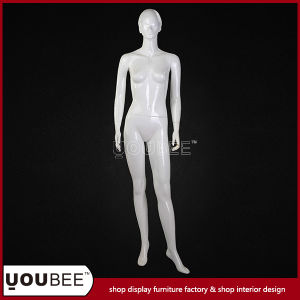 Glossy White Female Fiberglass Mannequin for Sale pictures & photos
