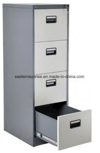 Four Drawer Metal Steel Iron Storage Filing Cabinet pictures & photos