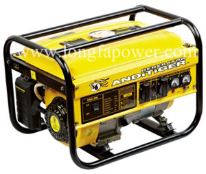 6.5HP Portable Gasoline Generator 2.5kw Air-Cooled Gasoline Generator Set pictures & photos