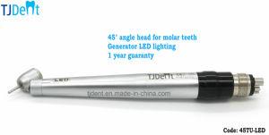 45 Degree LED Coupling Dental Turbine (45TU-LED) pictures & photos