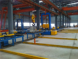 H I Beam Profile Steel Welding Production Line Assembly Machine pictures & photos