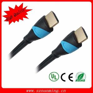 Manufacture HDMI Type a Male to Male Cable Support 3D HDMI Cable pictures & photos