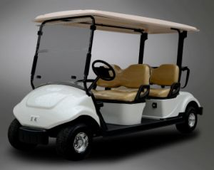 Battery Operated 4 Seater Electric Golf Cart with CE Certificate for Sale