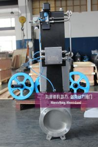 Knife Gate Valves C/W Junction Box, Regulator, Proximate Switches pictures & photos