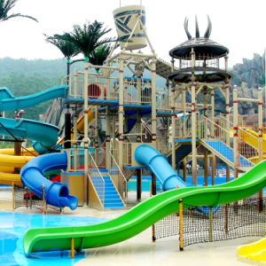 Theme Park Fiberglass Water Slide (ZC/WS/TH-02) pictures & photos