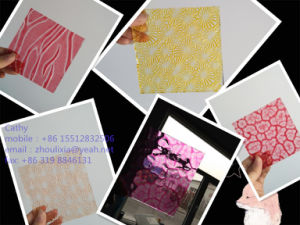 Color Patterned Glass for furniture Decoration pictures & photos