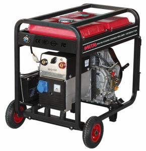 Gasoline Powered Pipe Generator Welder pictures & photos