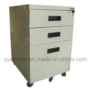 Steel Drawer Office Archives Mobile File Filing Metal Storage Cabinet pictures & photos