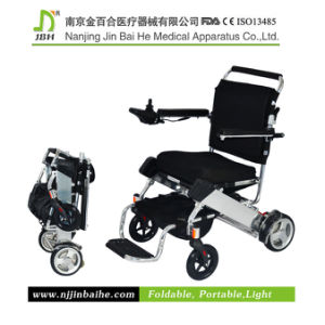 China Folding Portable Electric Wheelchair For The Elderly